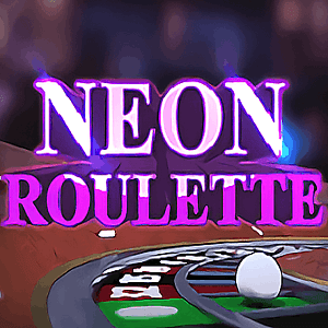 Neon Roulette Game